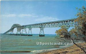 Potomac River Bridge Southern Maryland MD Unused