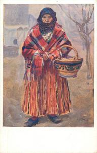 V. Maly - Chodka v salupu old woman folk costume