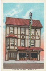 GETTYSBURG , Pa, 1910s ; Blue Parrot Tea Room