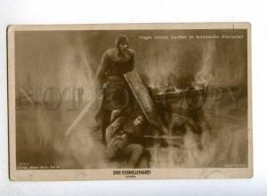 198427 LOOS SCHLETTOW Famous MOVIE Film NIBELUNGEN old PHOTO