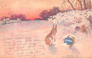 Advertising Post Card Snowdrift By the Southern Cotton Oil 1908