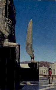 Sculptures at Hoover Dam Hoover (Boulder) Dam NV 1961