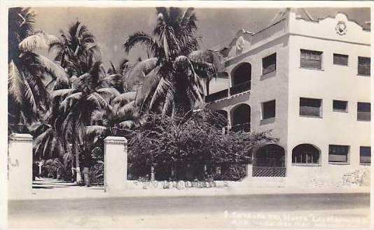 RP, Entrada Del Hotel Las Hamacas, Acapulco Gro., Mexico, 1930-1940s