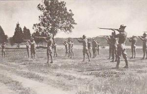 Rifle Instruction, Camp Lee, Virginia, 00-10s