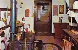 Kitchen Abraham Lincoln's Home Springfield Illinois 1975