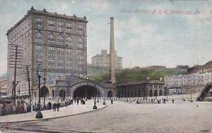 Pennsylvania Pittsburg The Union Station Rail Road
