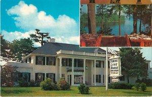 Towne Lyne House, Lynnfield, Massachusetts, MA Pre-Zip Code Chrome  Postcard