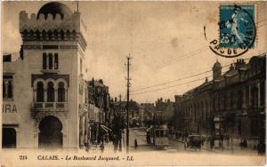 CPA CALAIS Le Boulevard Jacquard (405794)