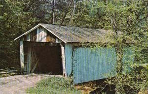 Ohio Buckeye Furnace Little Raccoon Creek  Covered Bridge