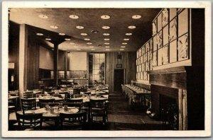New York City Postcard SEA FARE RESTAURANT Interior View / Sutton Place LUMITONE