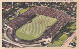 Oklahoma Tulsa Skelly Stadium Universsity Of Tulsa Curteich