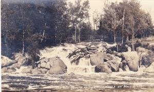 RP: Smoky Falls , Wolf River , Wisconsin , 20-40s