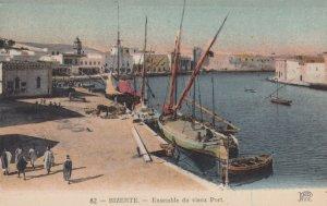 BIZERTE , Tunisia , 1910s ; Ensemble du Vieux Port