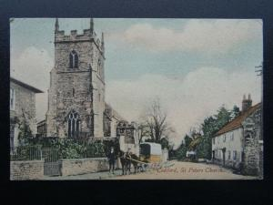 Wiltshire CODFORD & St. Peters Church c1905 Postcard by R. Wilkinson & Co.