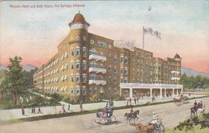 Arkansas Hot Springs Majestic Hotel And Bath House 1911