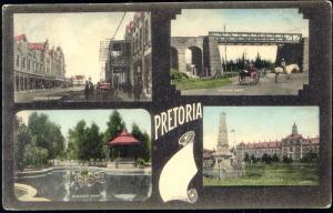 south africa, PRETORIA, Church Street, Railway Arch, Artillery Barracks (1908)