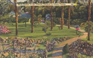 Rock Garden At Cypress Gardens Florida