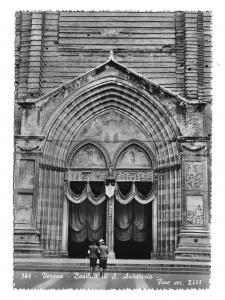 Italy Verona Basilica Anastasia Draped Entrance Glossy Photo 4X6 Postcard