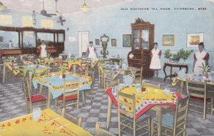 Mississippi Vicksburg Interior Old Southern Tea Room All Black Waitresses sk2273