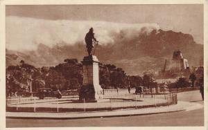 Table Mt from Van Riebeeck Statue , South Africa , 30-40s