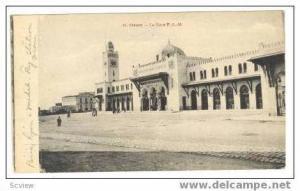 Train Station, La Gare P.-L.-M., Oran, Algeria, 1900-10s