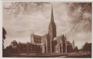 Salisbury Cathedral, Salisbury, Wiltshire England 1900-10s