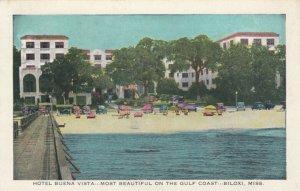 BILOXI, Mississippi, 1910-20s; Hotel Buena Vista