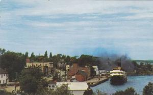 Steamer S.S. NORGAMA , LITTLE CURRENT , Ontario , Canada , 40-60s
