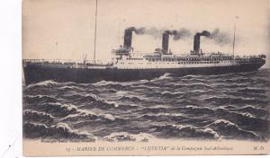 Marine de Commerce, Lutetia de la Campagnie Sud-Atlantique, Ocean Liner, 00-10
