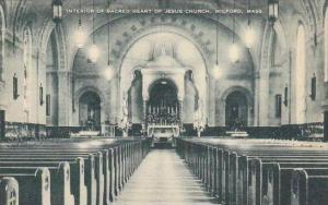 Massachusetts Milford Interior Of The Sacred Heart Of Jesus Church Artvue