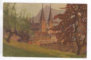Hofkirche gegen die Rigi, Switzerland, PU 00-10s