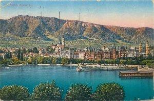 Switzerland Postcard Zurich Alpenquai