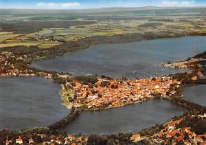Inselstadt Ratzeburg Gesamtansicht Island Aerial view Lake Lac Panorama