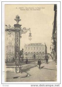 Place Stanislas-Le Grand Hotel, Nancy, France, 00-10s