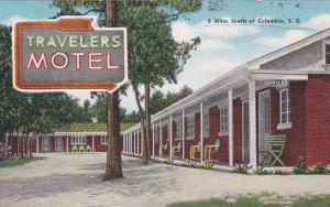 WEST COLUMBIA, South Carolina, 1930-1940's; Travelers Motel