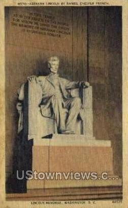 Abraham Lincoln, District Of Columbia