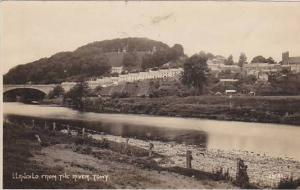 RP: LLANDILO (Llandeilo Fawr) , Carmarthenshire, Wales, 00-10s ; From the Riv...