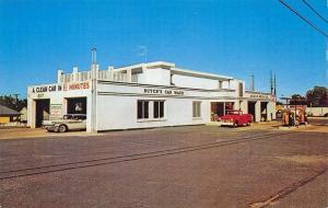 Red Bank NJ Butch's Automatic Car Wash Amoco Gas Station Postcard