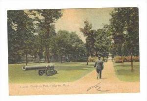 Cannon In Hampton Park, Holyoke, Massachusetts, 1907