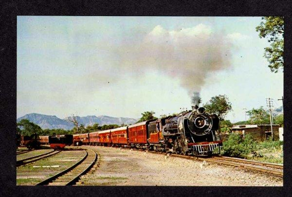 INDIA Indian Railroad Train Western Railways Rajasthan Ajmer RR Postcard PC