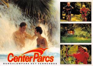 Netherlands Center Parcs Bungalowpark het Vennenbos, bath, bikes, arrow bow