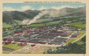 CUMBERLAND , Maryland, 1910-30s ; Celanese Corp. Plant