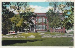 LAURENS , South Carolina , 1910-30s ; Graded School