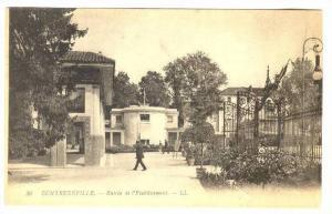 Entree De l'Etablissement, Contrexéville (Vosges), France, 1900-1910s