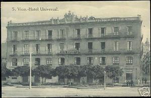 spain, VIGO, Hotel Universal (ca. 1910)