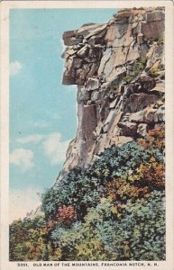 Old Man Of The Mountains Franconia Notch New Hampshire