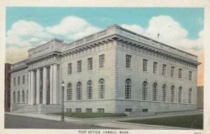 LOWELL , Massachusetts, 1900s-10s ; Post Office