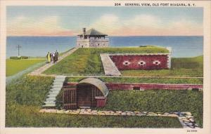 General View Old Fort Niagara New York
