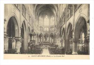 La Grande Nef, Saint-Séverin (Charente), France, 1900-1910