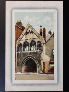 Gloucestershire: West Gate, Gloucester Cathedral c1910 by Valentine's